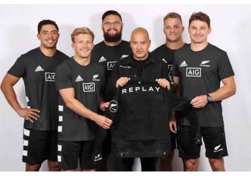 """REPLAY成为新西兰橄榄球队ALL BLACK""""官方正装合作伙伴"""""""