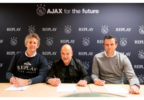 Replay成为荷兰阿贾克斯足球队官方服装赞助商