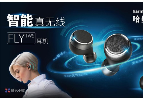 品味非凡音质,体验无限智能  哈曼卡顿FLY TWS真无线智能耳机